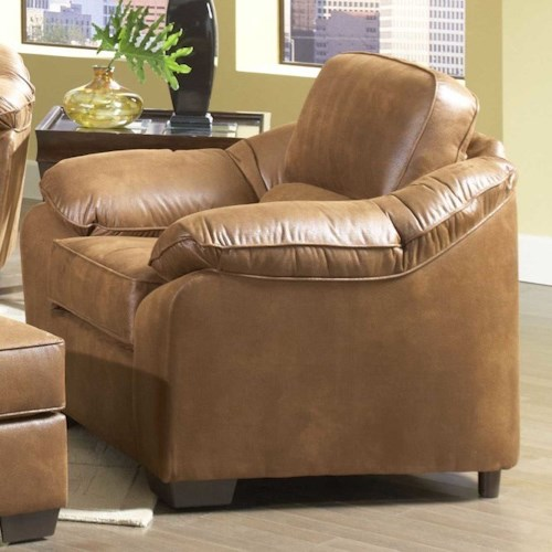 Serta Upholstery by Hughes Furniture 3800 Comfortable Accent Chair