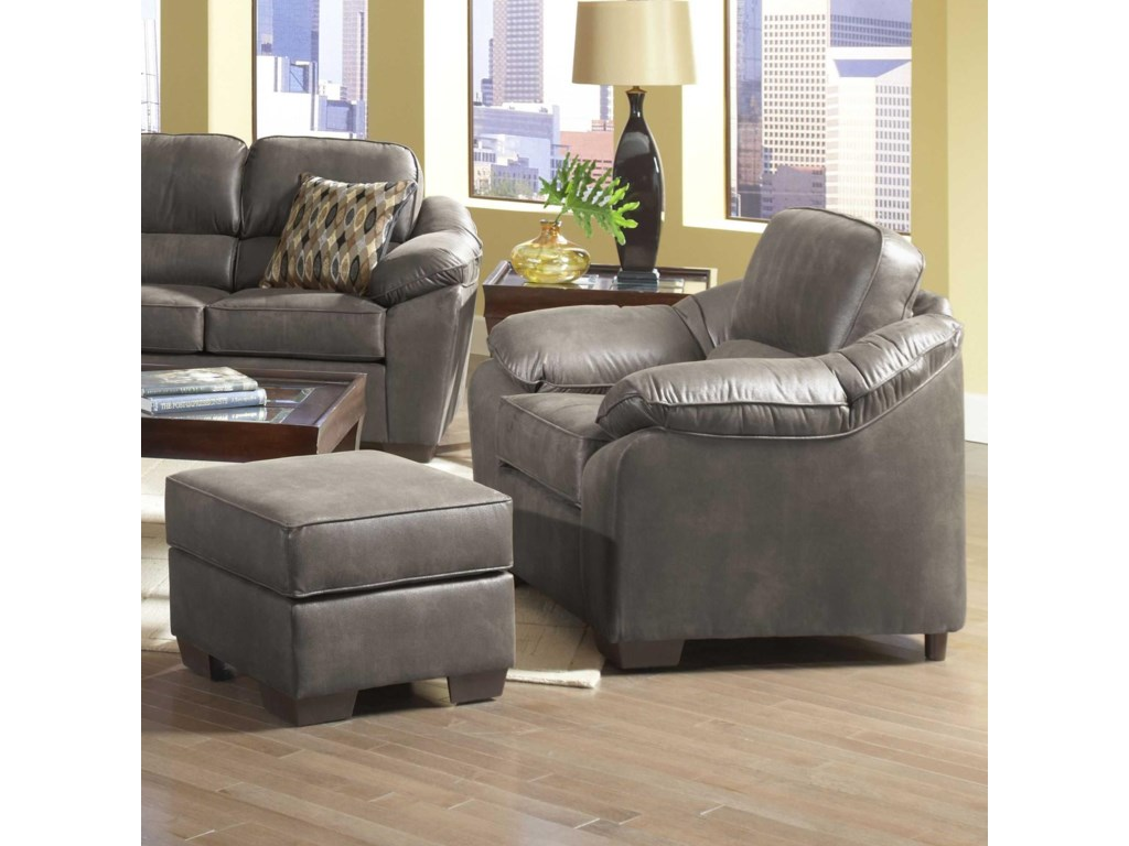 Serta Upholstery by Hughes Furniture 3800Accent Chair