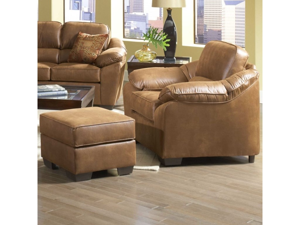 Serta Upholstery by Hughes Furniture 3800 Comfortable Chair ...