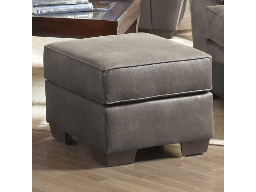 Serta Upholstery by Hughes Furniture 3800Square Ottoman
