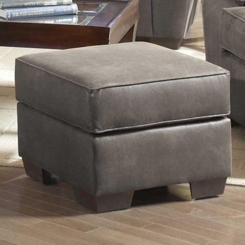 Serta Upholstery by Hughes Furniture 3800 Square Accent Ottoman