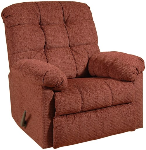 Serta Upholstery 400 Casual Recliner with Tufted Seatback