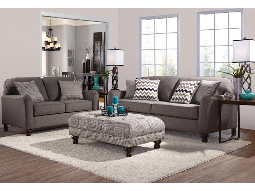 Serta Upholstery PemberlyTransitional Sofa