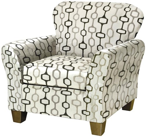 Serta Upholstery by Hughes Furniture 5600 Occasional Accent Chair