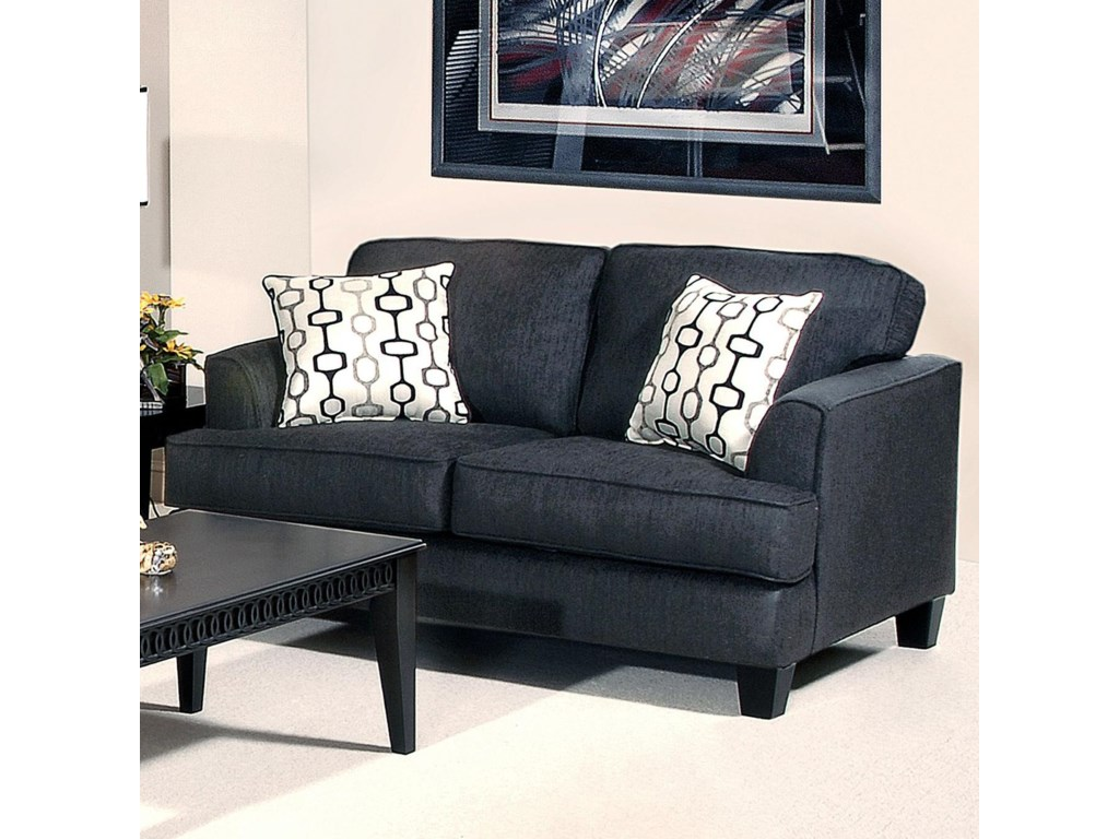 Serta Upholstery by Hughes Furniture 5600Transitional Love Seat