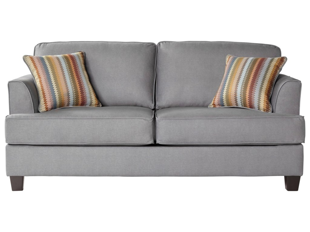 Serta upholstery by hughes furniture 5650full sleeper sofa
