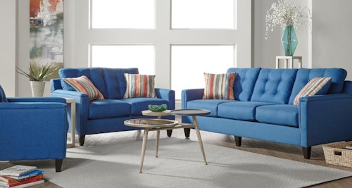 Serta Upholstery by Hughes Furniture 6800Jitt Group Shot
