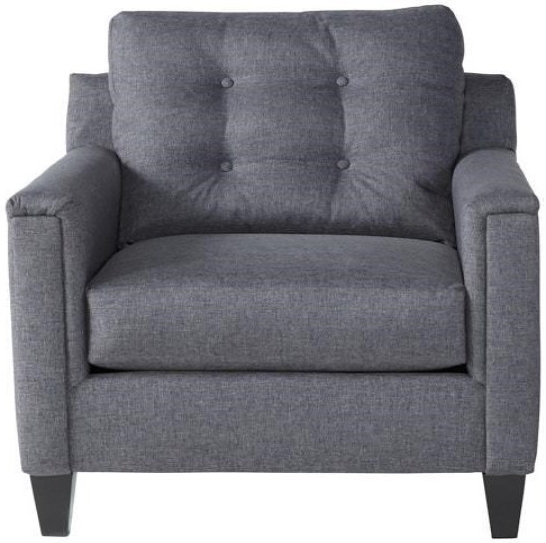 Serta Upholstery by Hughes Furniture 6800Jitt Gray Chair