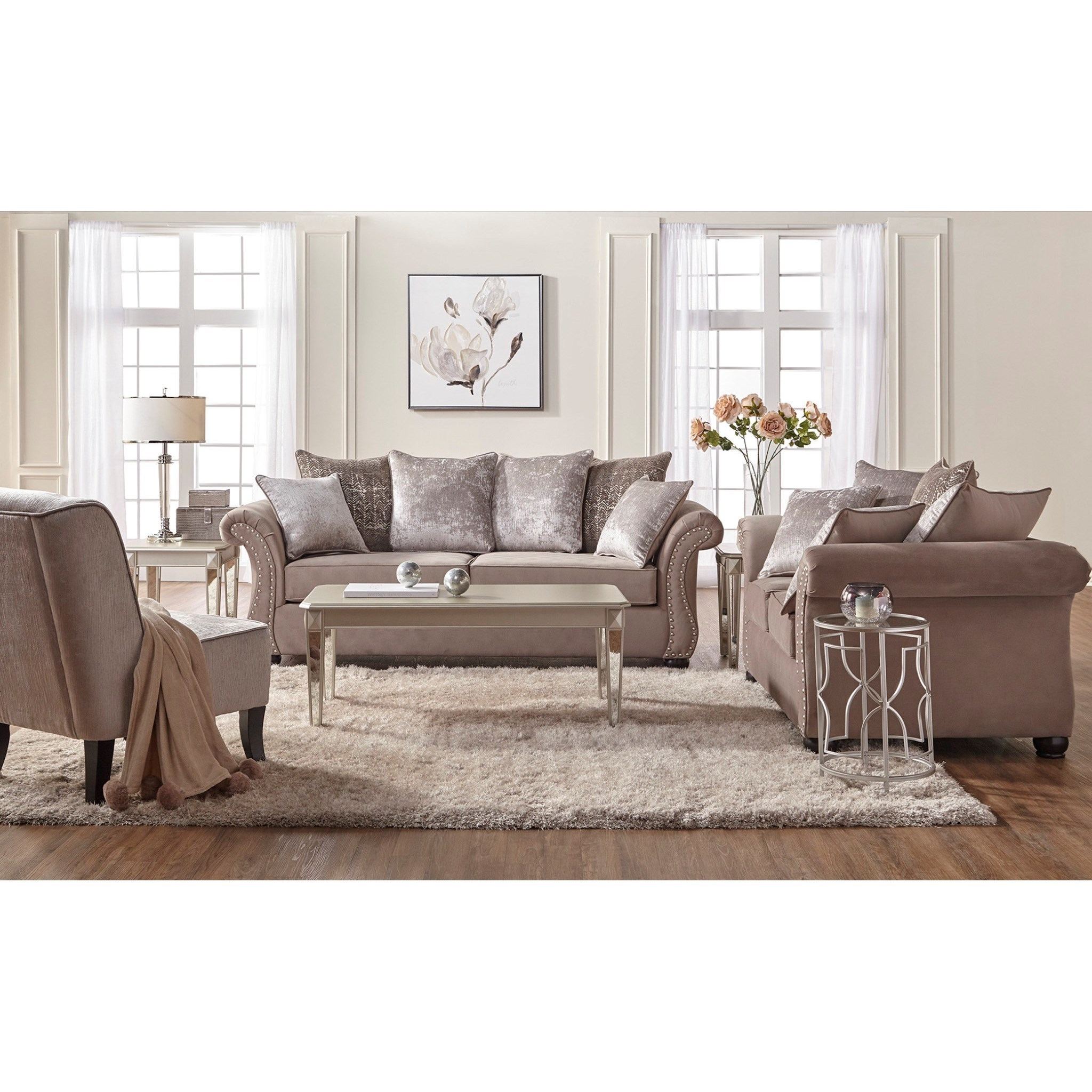 stunning Darvin Furniture Prices Part - 11: Serta Upholstery by Hughes Furniture 7500Stationary Living Room Group