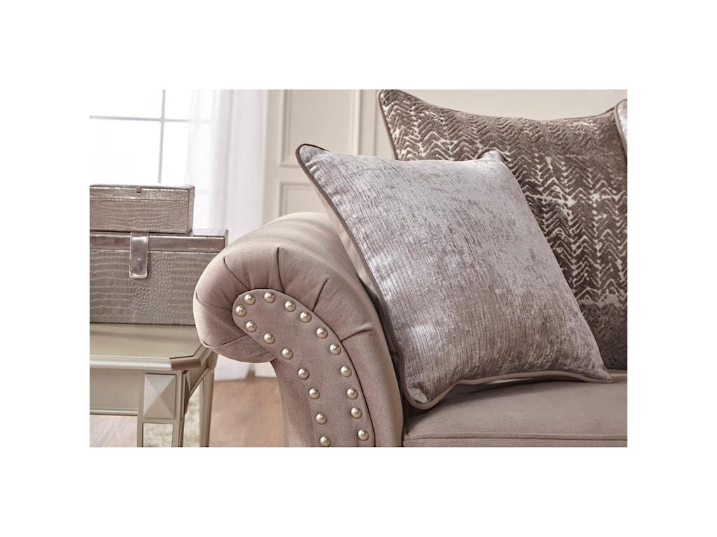 Serta Upholstery by Hughes Furniture 7500Stationary Loveseat