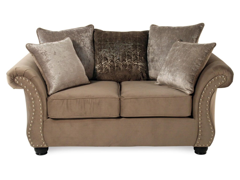 Serta Upholstery CosmosStationary Loveseat