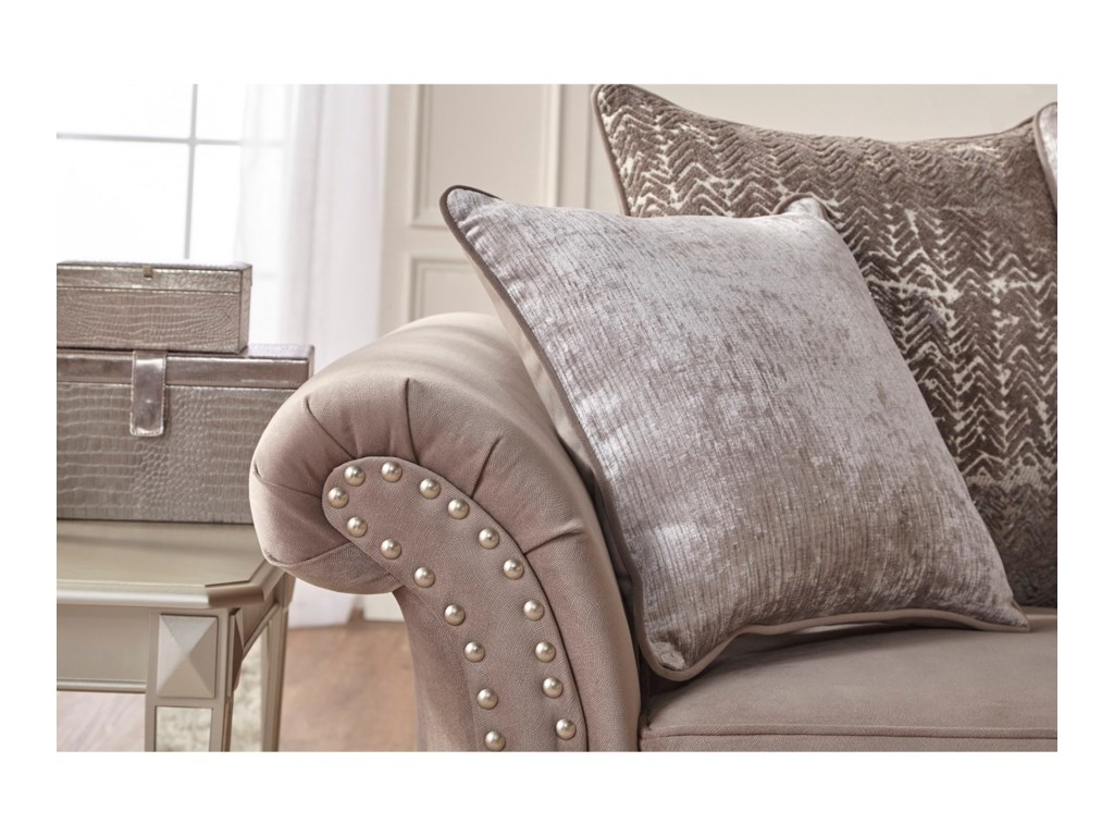 Serta Upholstery by Hughes Furniture 7500Stationary Sofa