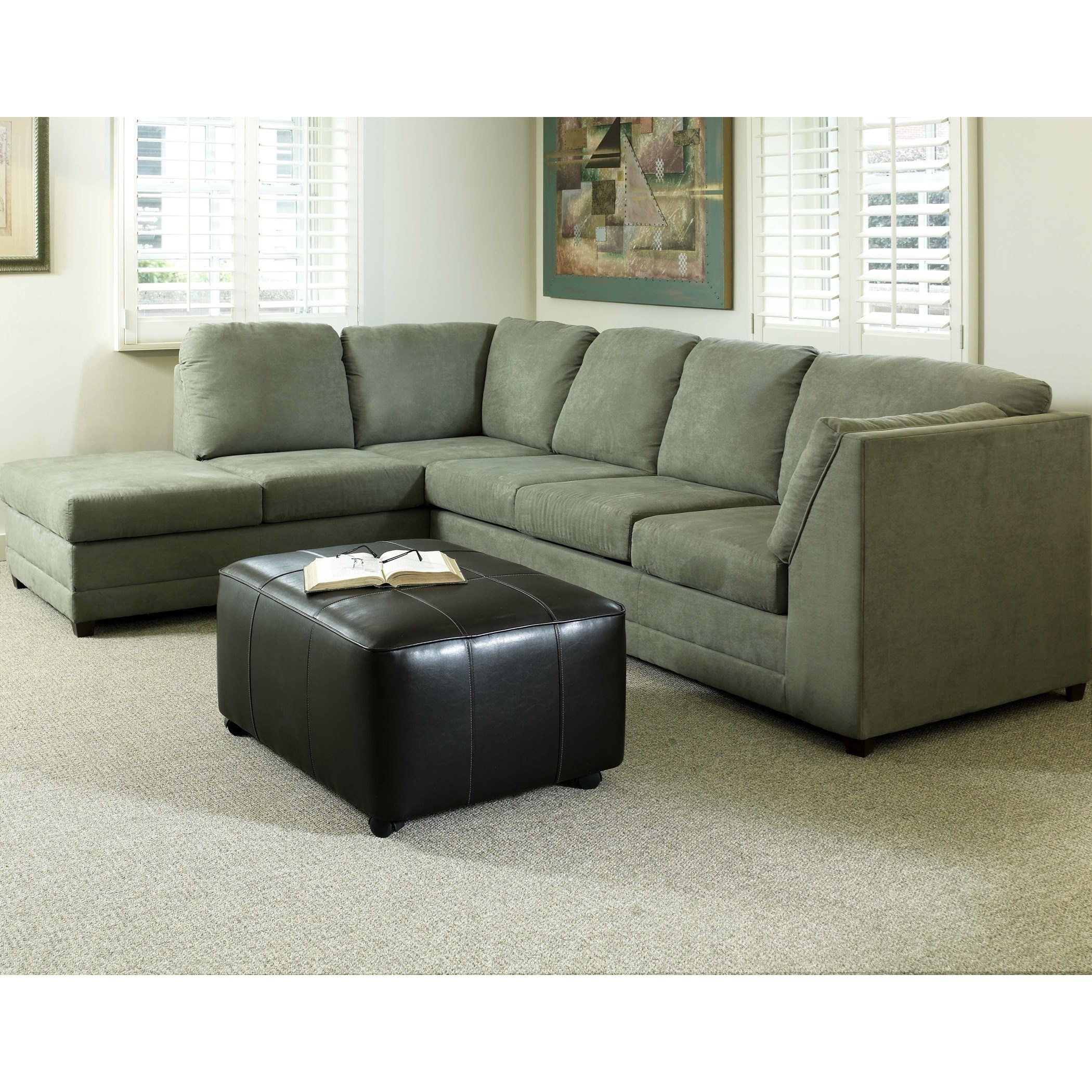 8200 Casual Sectional Sofa With Left Facing Chaise By Serta Upholstery By  Hughes Furniture