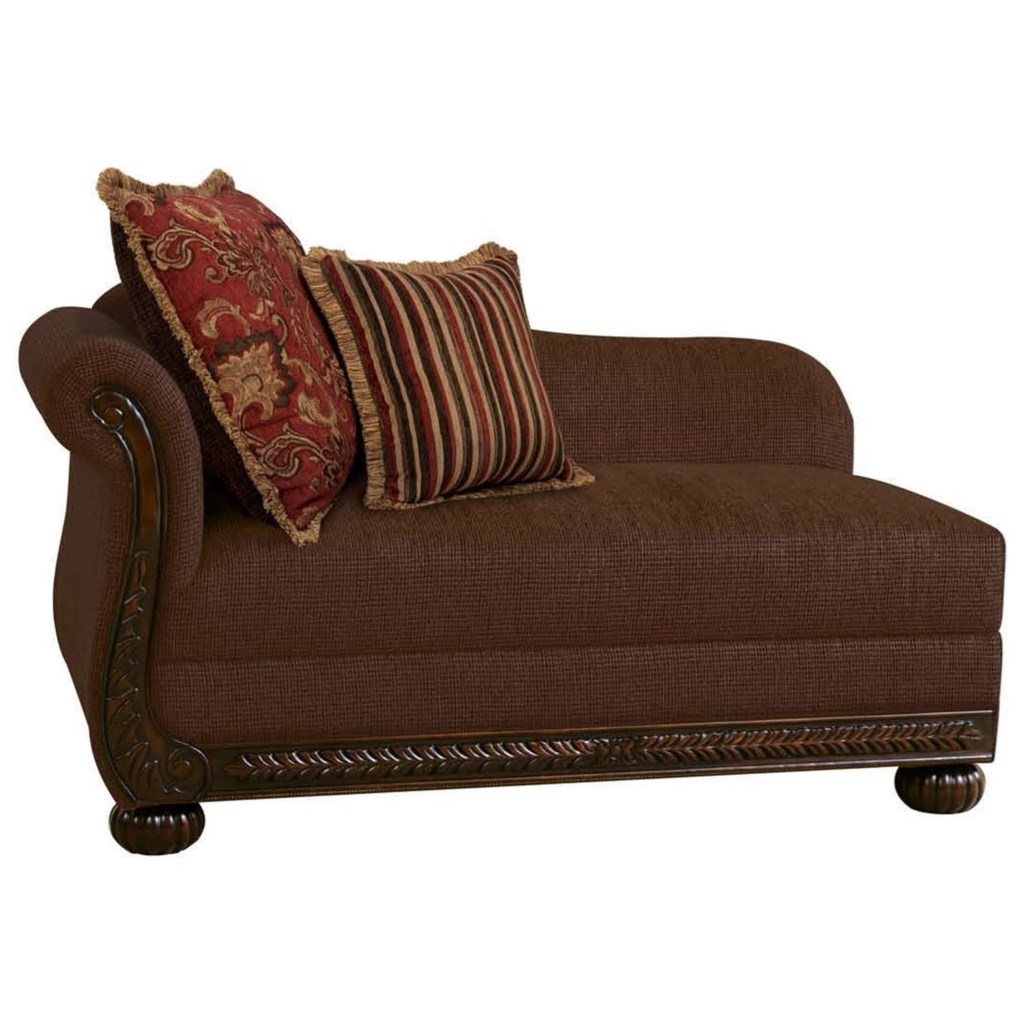 Serta Upholstery By Hughes Furniture 8500 Traditional Left Arm