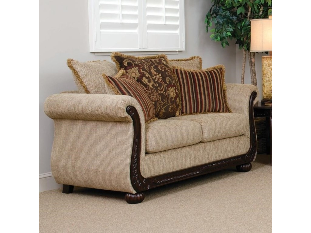 Serta Upholstery TangierStationary Loveseat