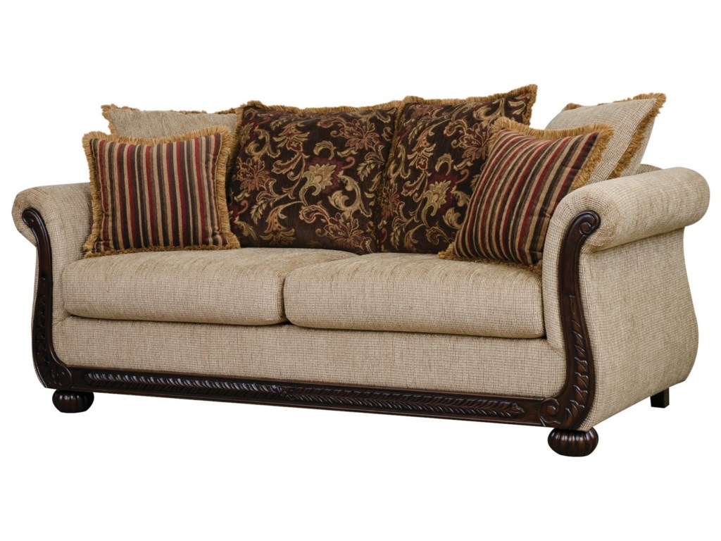 Serta Upholstery TangierStationary Sofa
