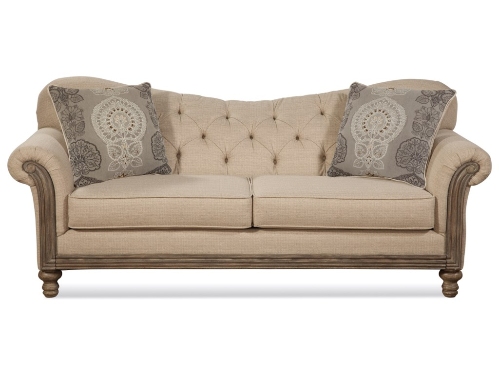 Serta Upholstery by Hughes Furniture 8725Traditional Sofa