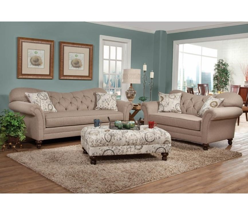 Serta Upholstery by Hughes Furniture 8750Stationary Living Room Group