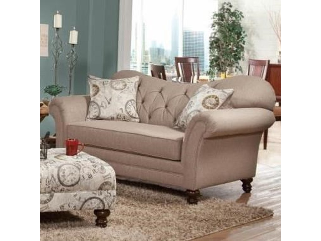Serta Upholstery by Hughes Furniture 8750Loveseat