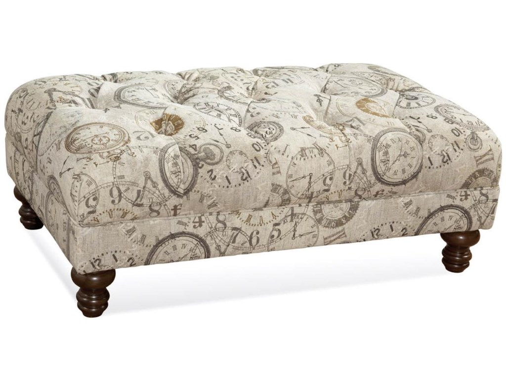 Serta Upholstery by Hughes Furniture 8750Traditional Ottoman