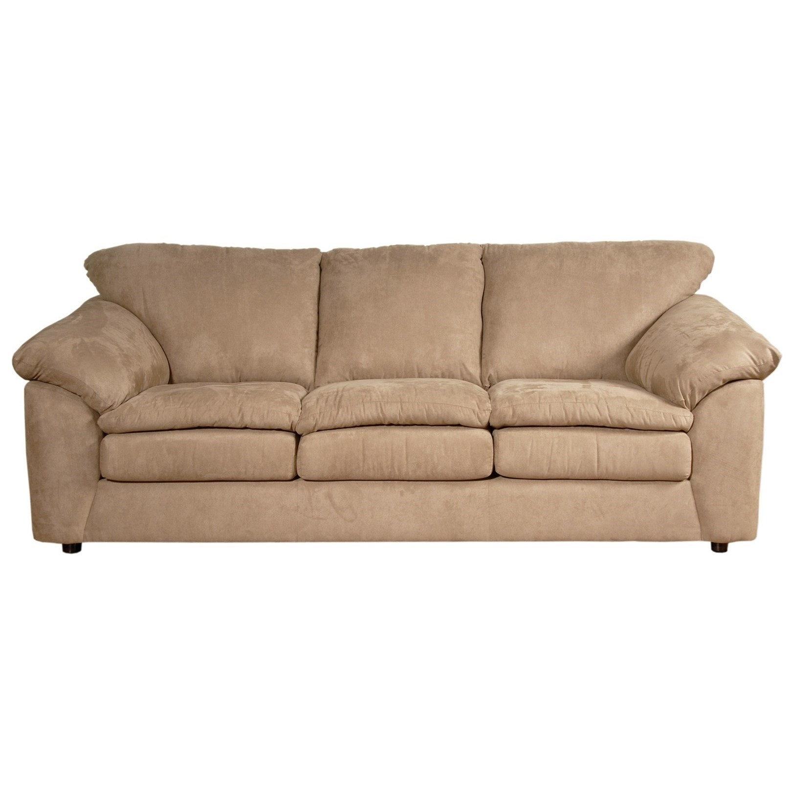 Serta Upholstery By Hughes Furniture 9000Casual Sofa ...