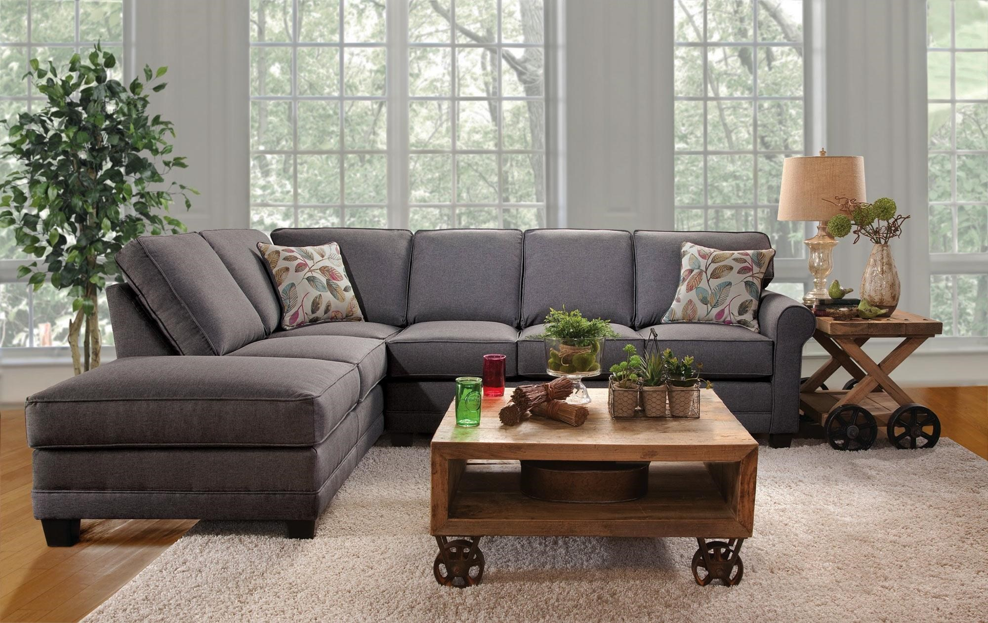 Serta Upholstery Jitterbug 2PC Sectional w/ Chaise  sc 1 st  Rotmans : serta upholstery sectional - Sectionals, Sofas & Couches
