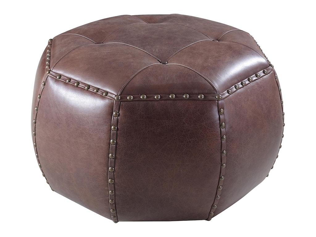 Hooker Furniture Accent OttomansOctagonal Ottoman