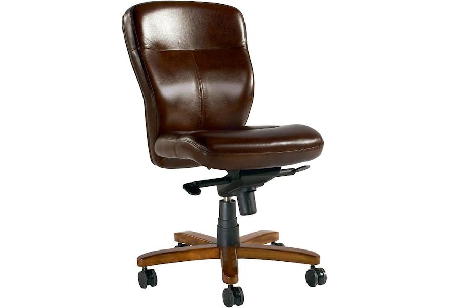 Hooker Furniture Executive Seating Armless Executive Swivel Tilt Chair Zak S Home Executive Desk Chairs