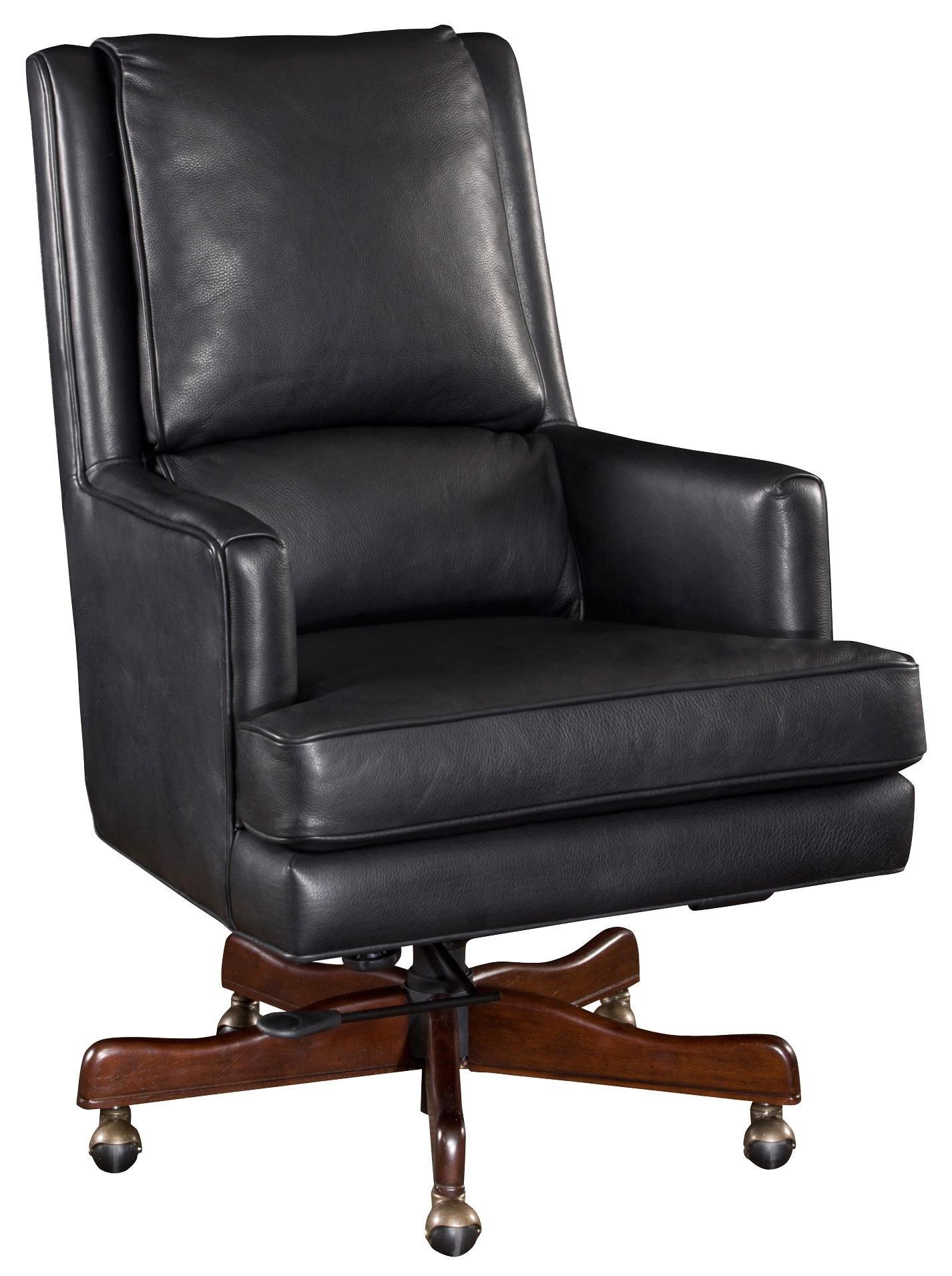 leather desk chair. Hooker Furniture Executive SeatingLeather Desk Chair Leather H