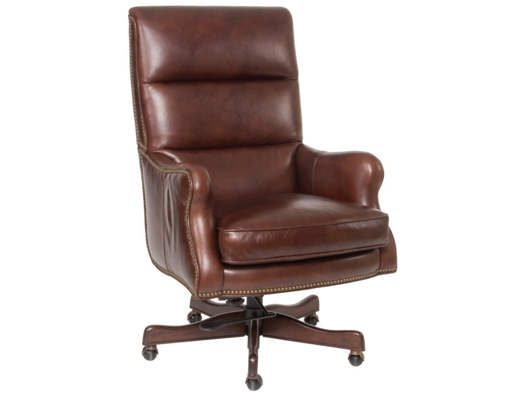 Hamilton Home Executive SeatingClassic Styled Leather Desk Chair