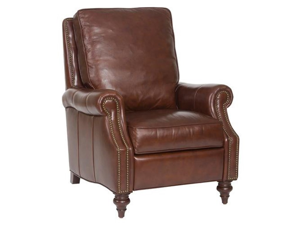 Hooker Furniture Reclining ChairsTraditional Leather Recliner
