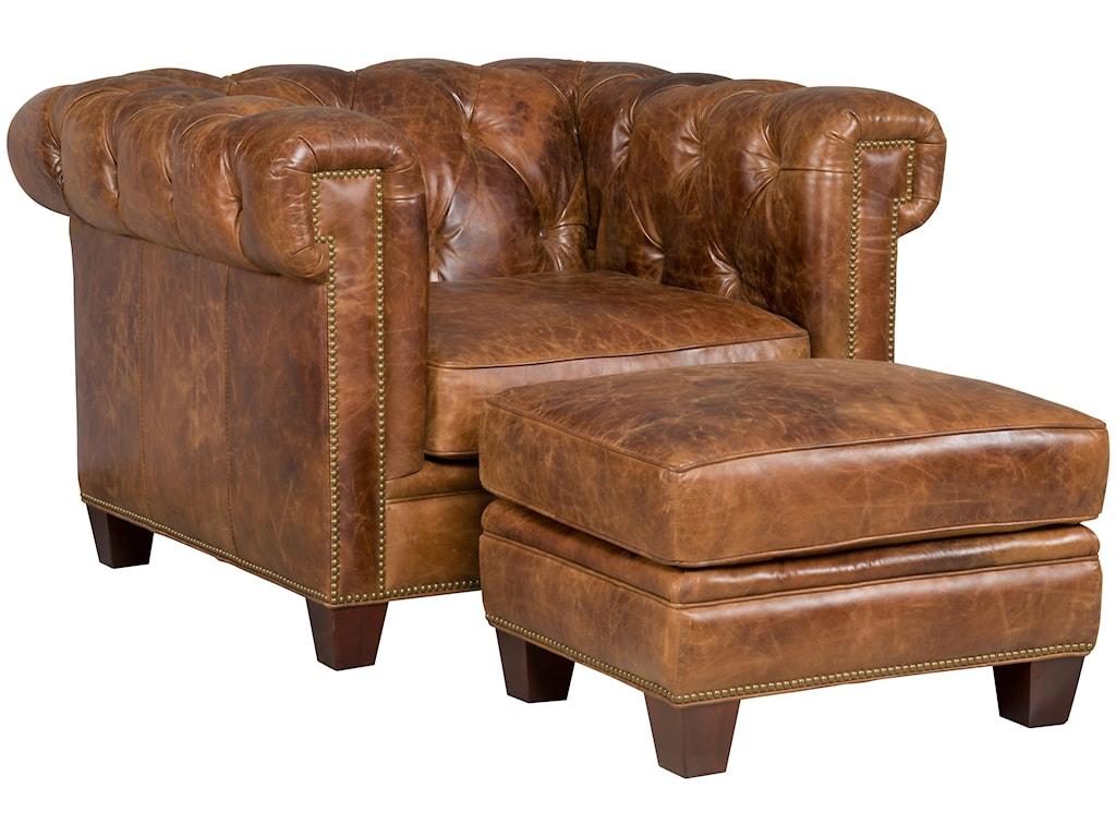 Hooker Furniture SS195-087Chair & Ottoman