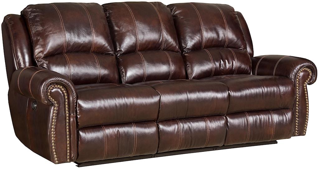 Hooker Furniture Ss611 Ss611 Pr 03068 Dual Power Reclining Sofa  ~ Motorized Reclining Sofa