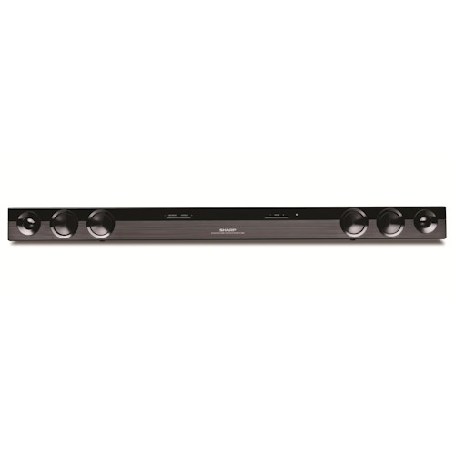 Sharp Electronics Home Audio ENERGY STAR® 2.0 Channel 40-Watt Sound Bar Home Theater System with Premium Brushed Design
