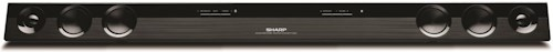 Sharp Electronics Home Audio ENERGY STAR® 2.0 Channel 40-Watt Sound Bar Home Theater System with Bluetooth® Wireless Compatibility