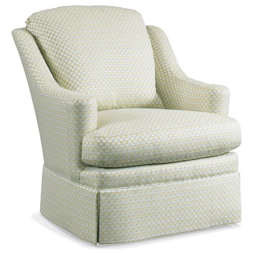 Sherrill 1728 Traditional Swivel Chair