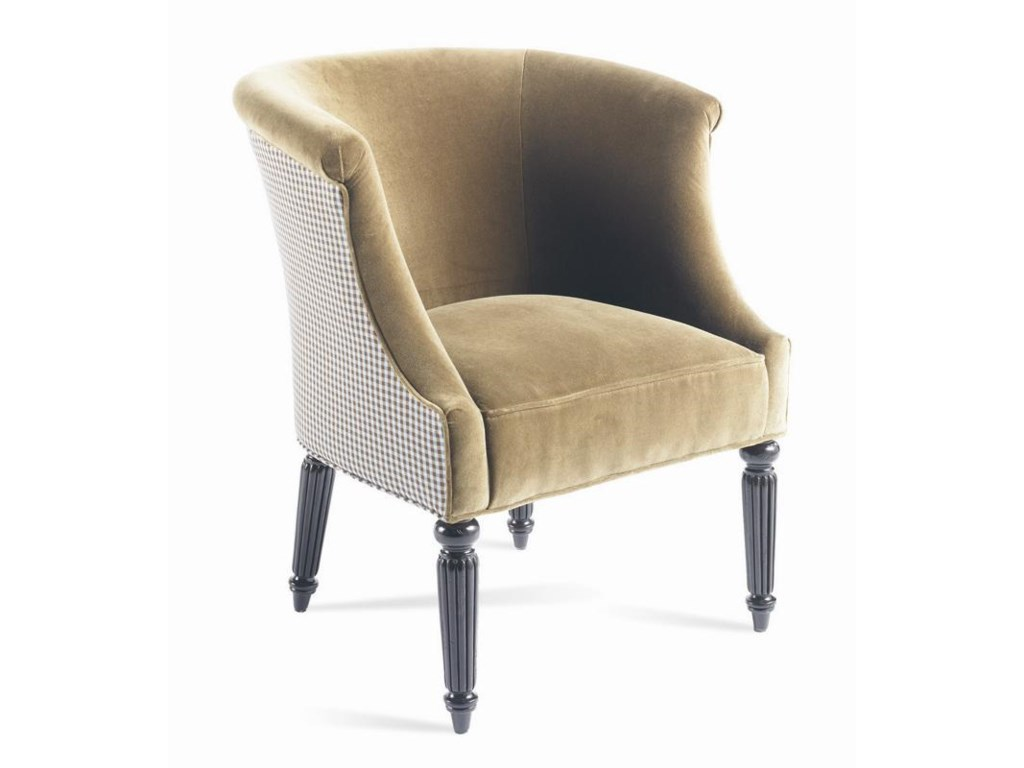 Sherrill Dan CarithersCarved Chair