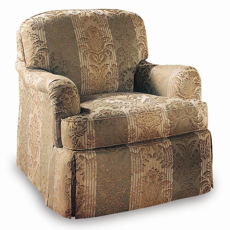 Nice Sherrill Design Your Own Lounge Chair With English Arms And Dressmaker Skirt