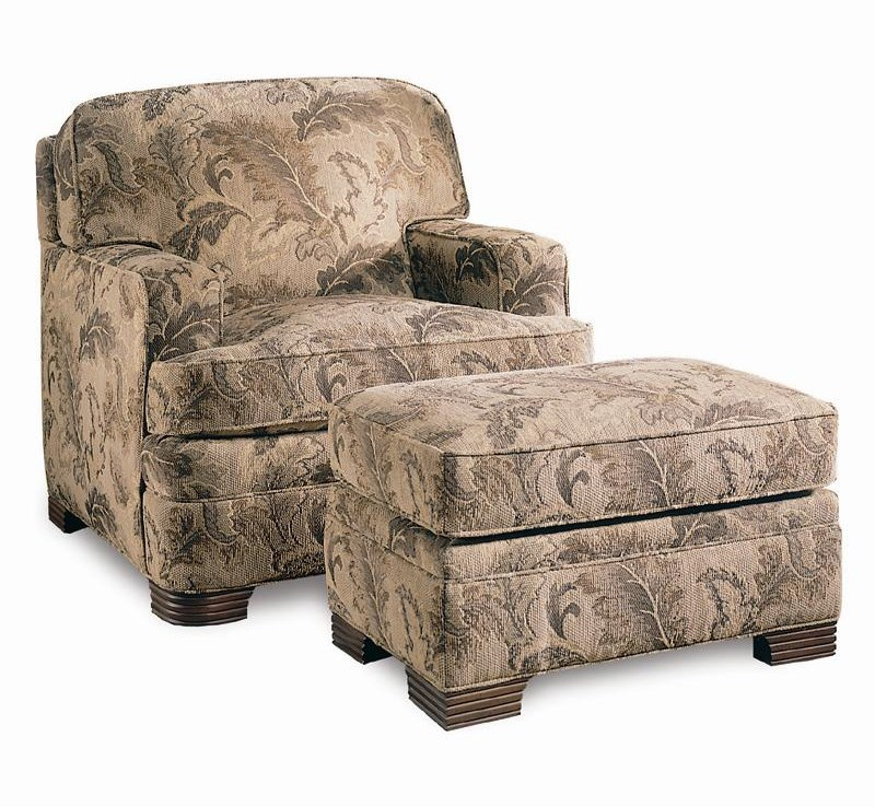 Sherrill Design Your OwnChair & Ottoman