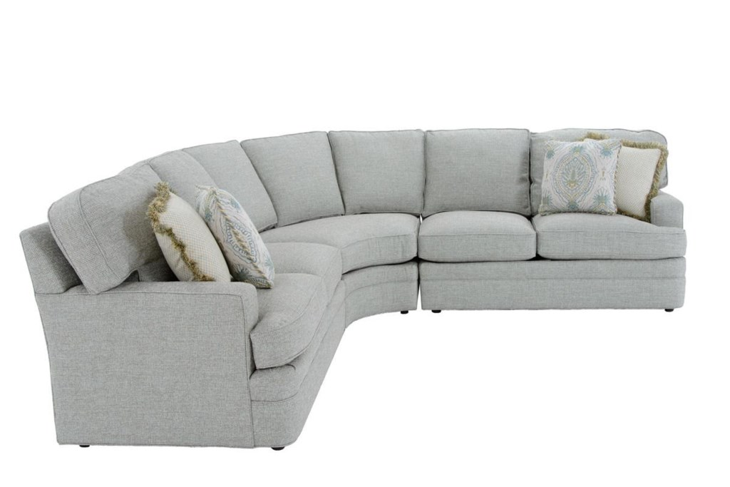 Sherrill Design Your Own 96 TBU 3 Pc Sectional Sofa