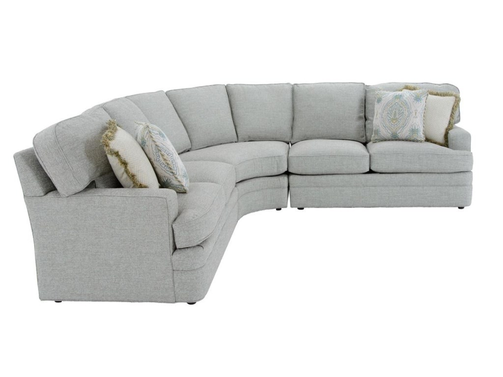 Sherrill Design Your Own3 Pc Sectional Sofa