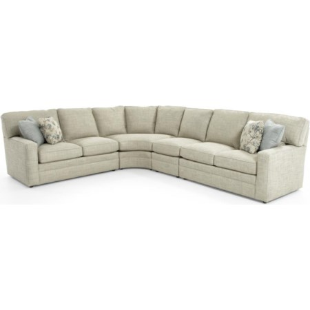 4 Pc Sectional Sofa