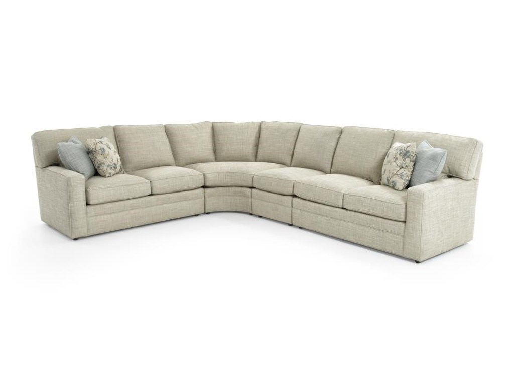 Design Your Own 4 Pc Sectional Sofa By Sherrill At Baer S Furniture