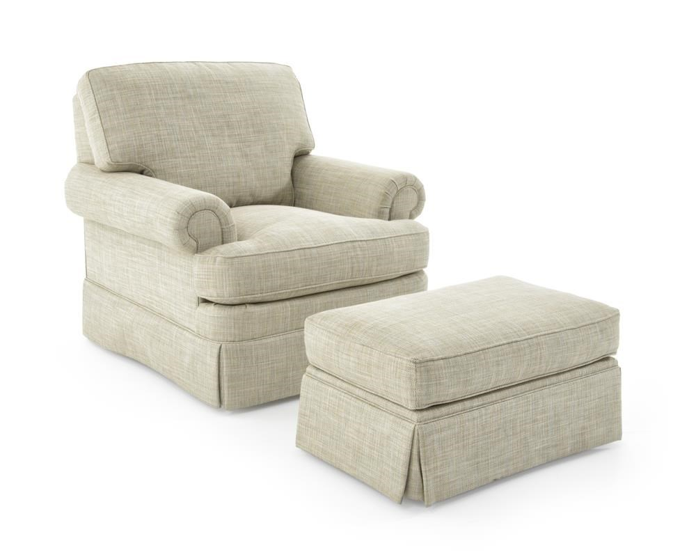 Superb Sherrill Design Your OwnChair And Ottoman Set ...