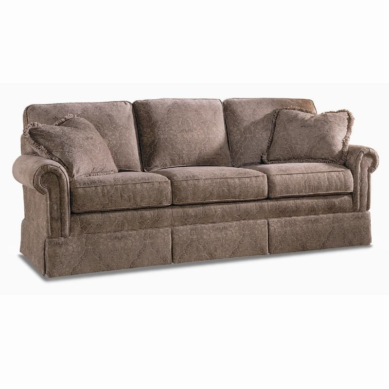 Sherrill Traditional Lawson Sofa With Rolled Panel Arms