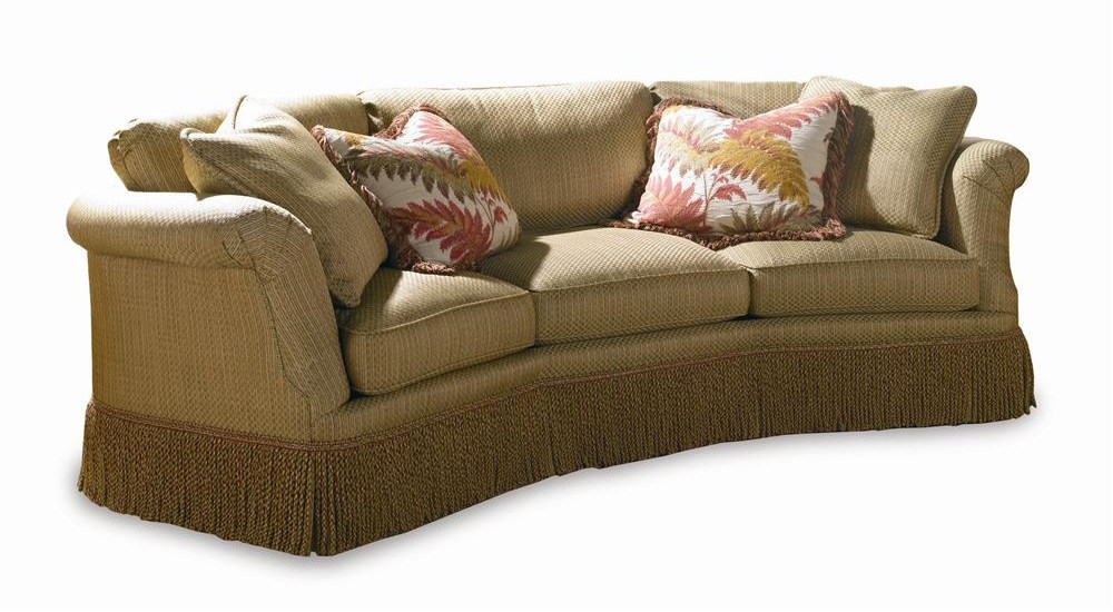 Sherrill Traditional 5272 Conversation Sofa with Loose Cushion Back - Sherrill Traditional Conversation Sofa With Loose Cushion Back