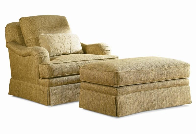 Sherrill TraditionalSwivel Chair & Ottoman