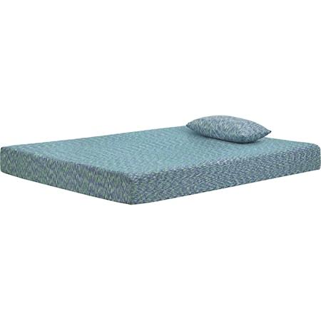 """Full 7"""" Firm Blue Memory Foam Mattress"""