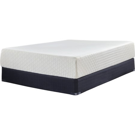 "Twin 12"" Memory Foam Low Profile Set"