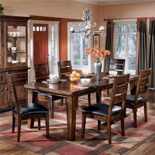 Signature Design by Ashley Larchmont 5Pc Dining Room